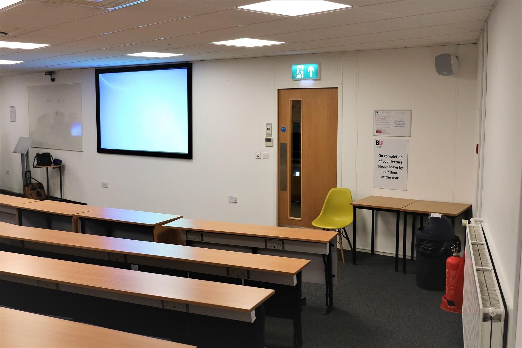 Refurbishment of University lecture theatre