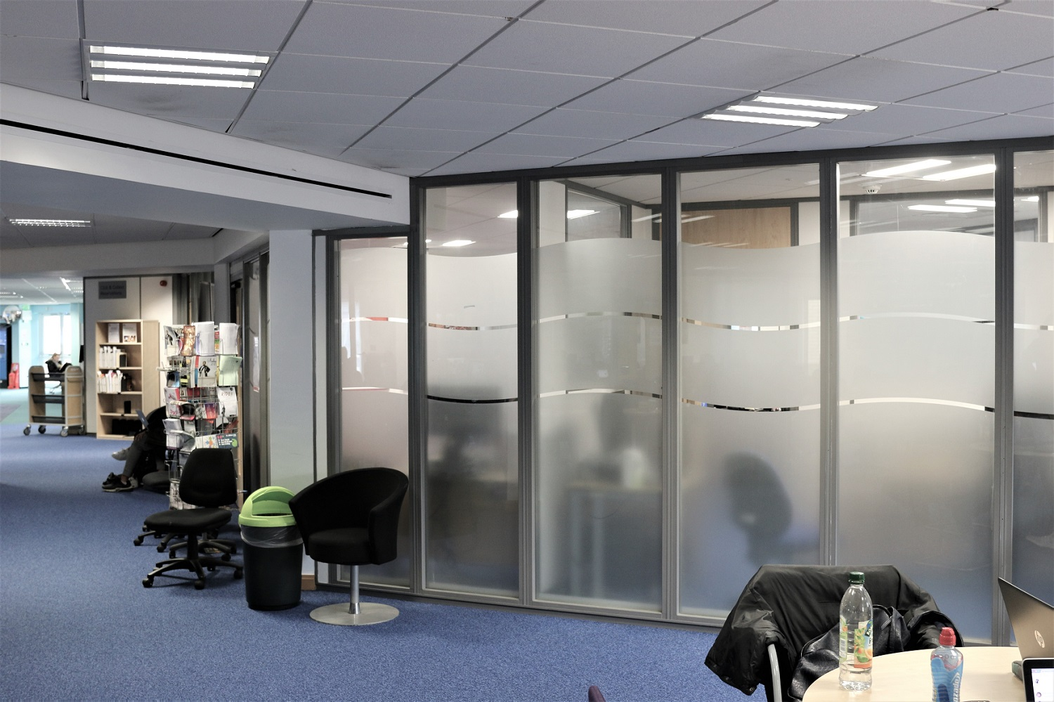 Addition of partitioning to University library