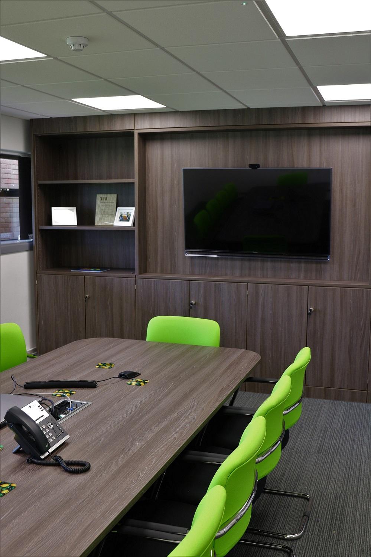 Bespoke furniture and AV equipment