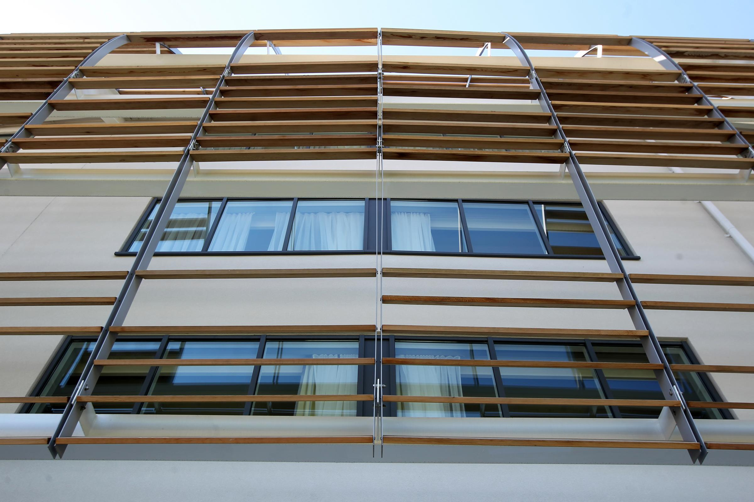 Glazing and eternal panelling