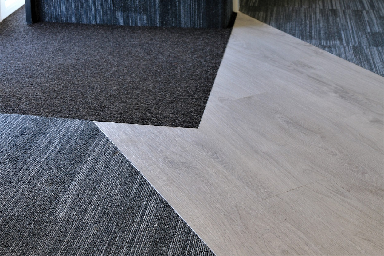 Wide selection of flooring types