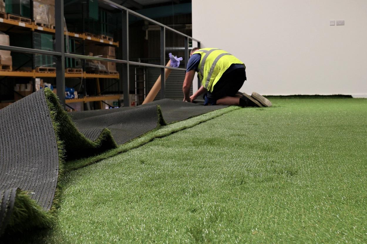 Bespoke flooring solutions for workspaces