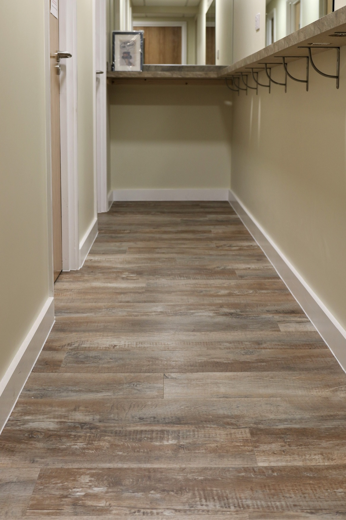 Large selection of wood effect flooring