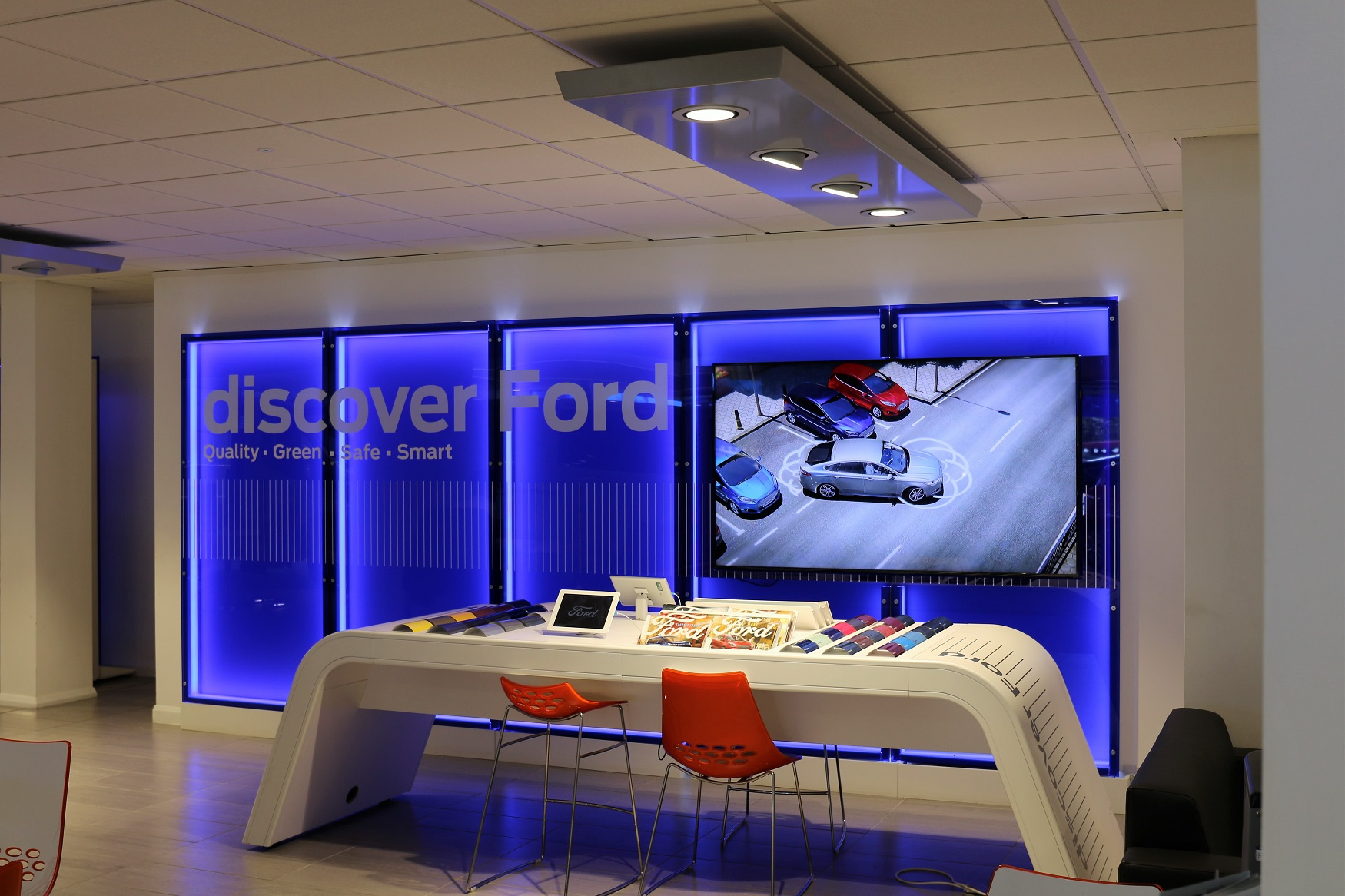 Discover Ford are in Cosham showroom
