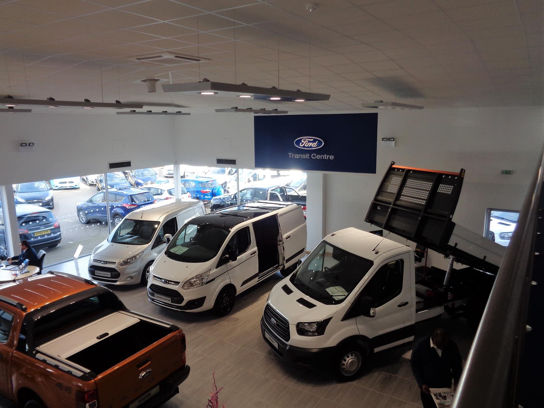 Incorporate commercial vehicles ford transit centre