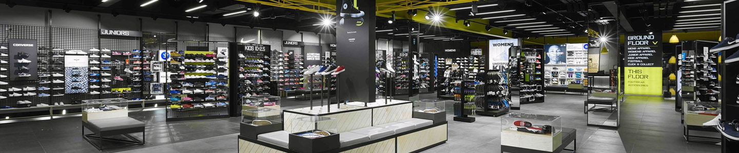 JD Sports   Preferred store fit-out