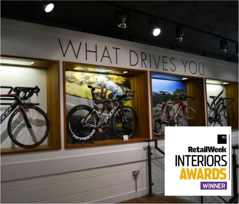 RetailWeek retail fit out award winner