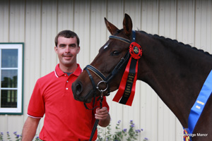Windsong FV is awarded MMPS Status and Top Scoring American Bred Mare for the entire 2009 AHHA Inspection Tour!!