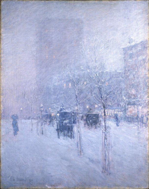 """""""Late Afternoon New York Winter"""""""
