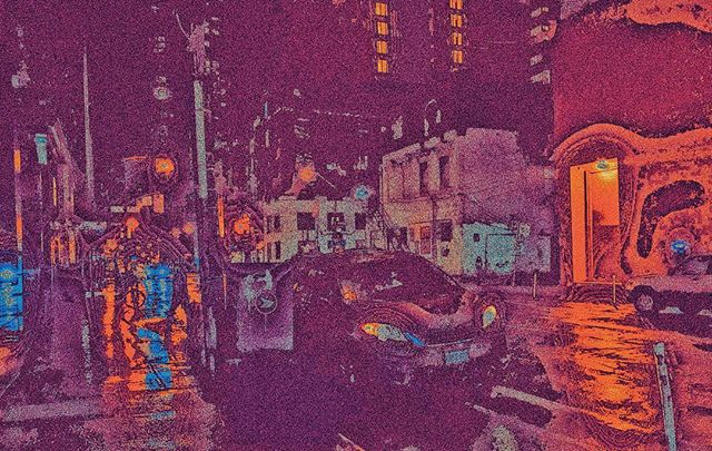 """Infinite stairs are unacceptable""  #cityscape #night #nightcity #rain #rainynights #cars #lights #street #ewigeblumenkraft #fnord #duhexenhase #adventuretime #lemongrab #infinity #psychedelic #Buddhism #distortion #vsco #toronto #urban #photography #egodeath #trippy #colours"