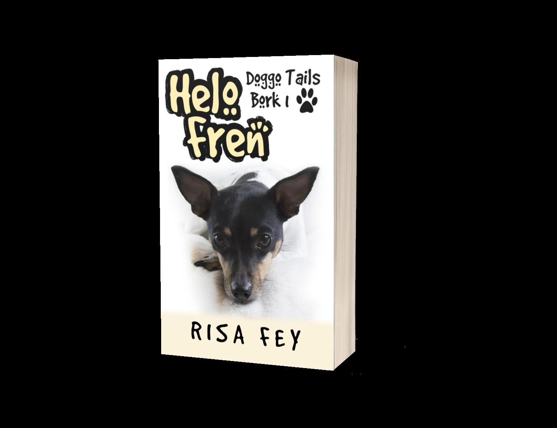 Helo Fren: Doggo Tails Bork 1 - Would u do a doggo felon an adopt…?