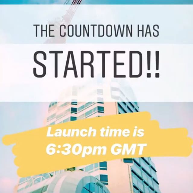 At 6:30pm GMT we go liiiveeee!! 〰️🎉🎊✨〰️ . . . . #launch #start #day1 #sustainabledesign #photolove #creativestudio #studiolife #new #follow #creativelive #countdownbegins #londoncreative