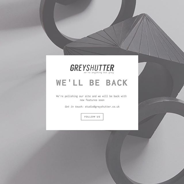 〰️Something's cooking here at Grey Shutter!! New image, new website and BIG updates! We're super excited to share all of these with you. #studiolife #photography #creative #studio #photographystudio #newsite #newwebsite #comingsoon