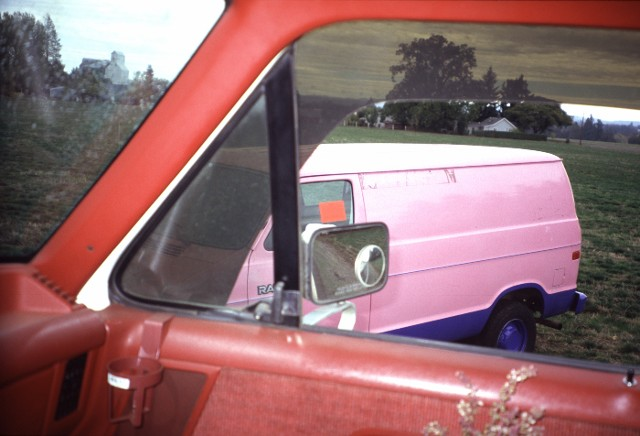 Patrick Collier - Red Cab Pink Van