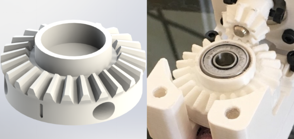 Use ALT's Step-by-Step 3D Printing Instructions to create 3D printed object like these gears designed and 3D printed in house at ALT