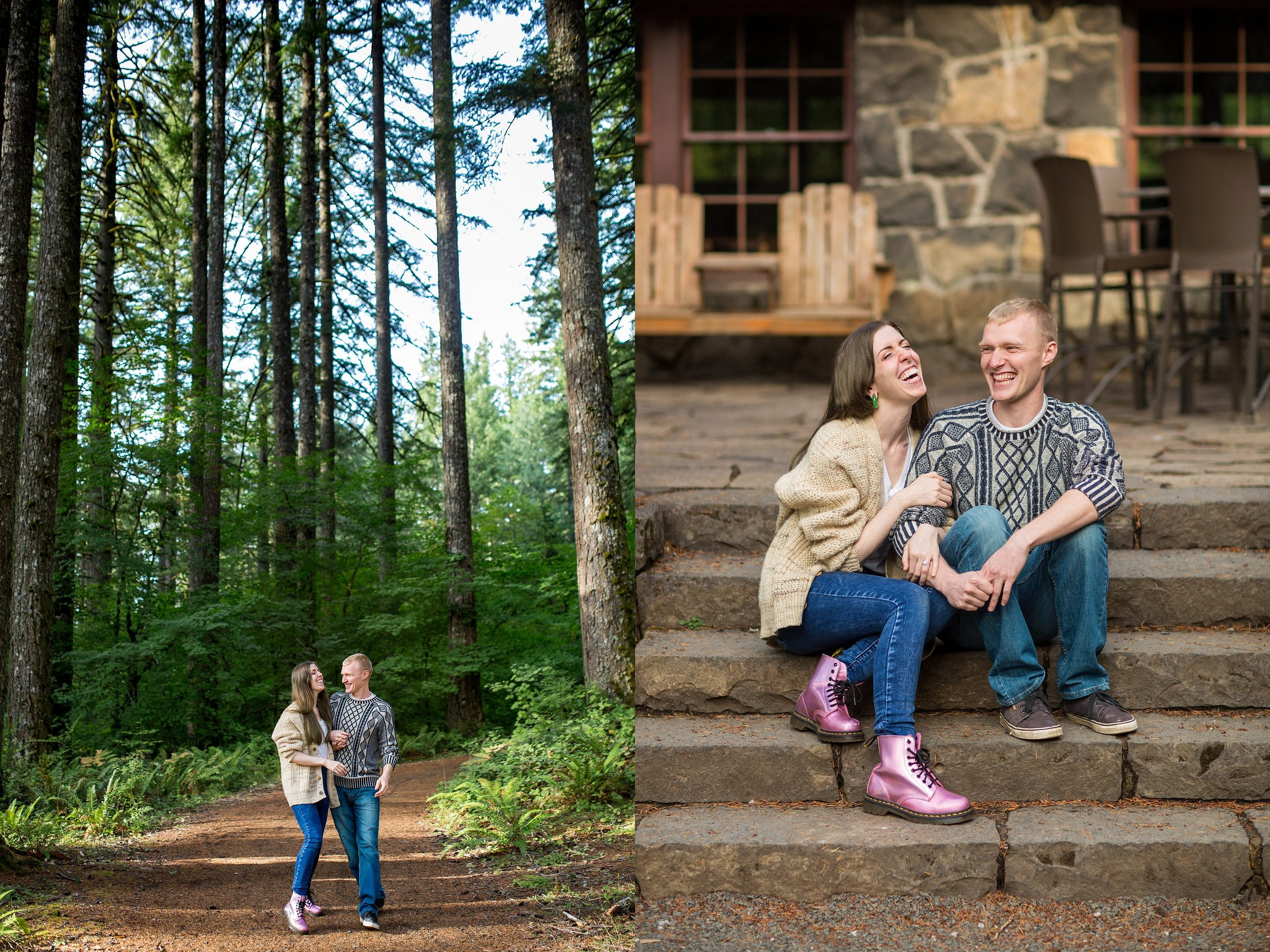 Portland, Oregon Engagement Photographer