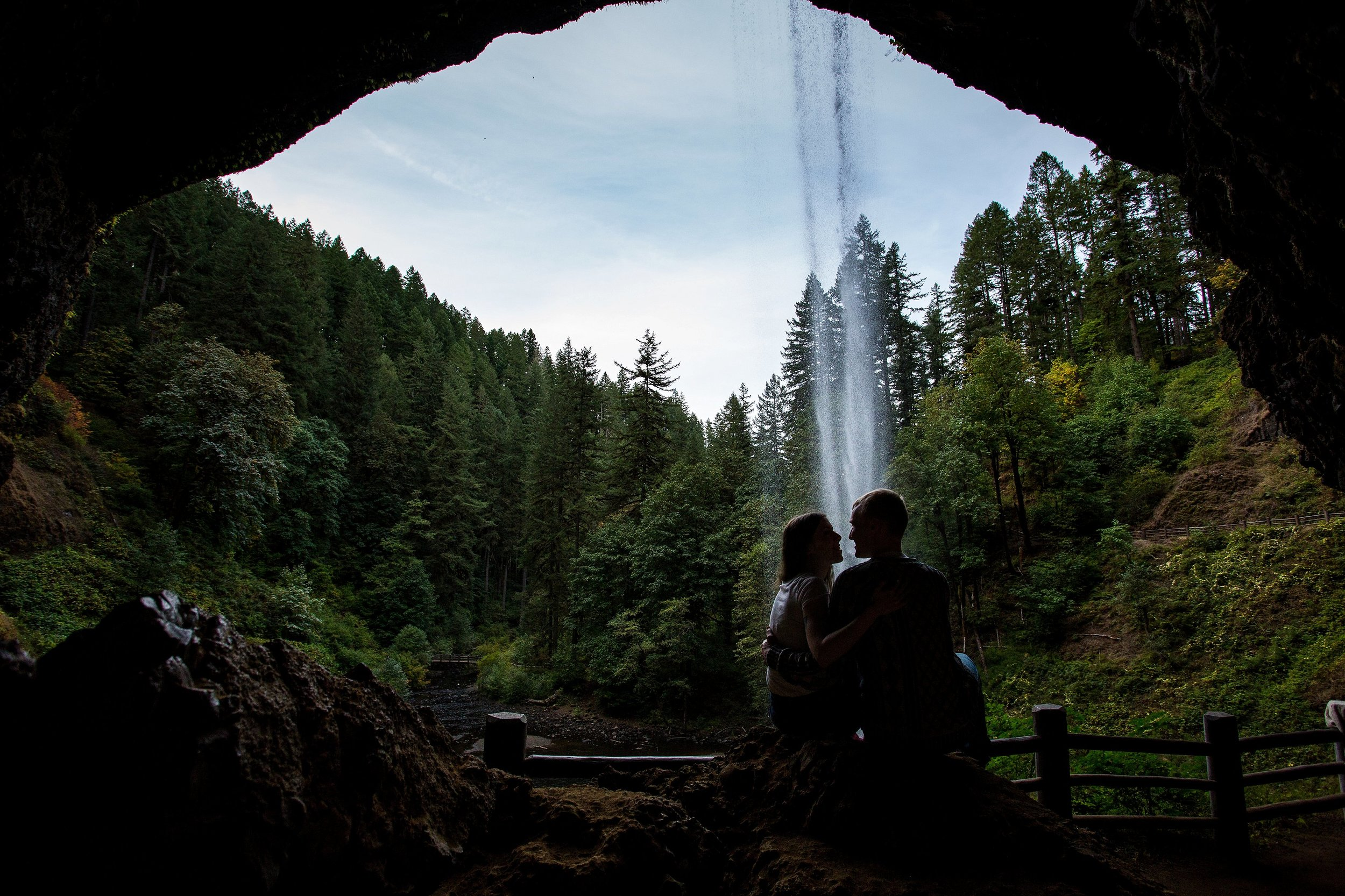 Silver Falls State Park Proposal Photographer