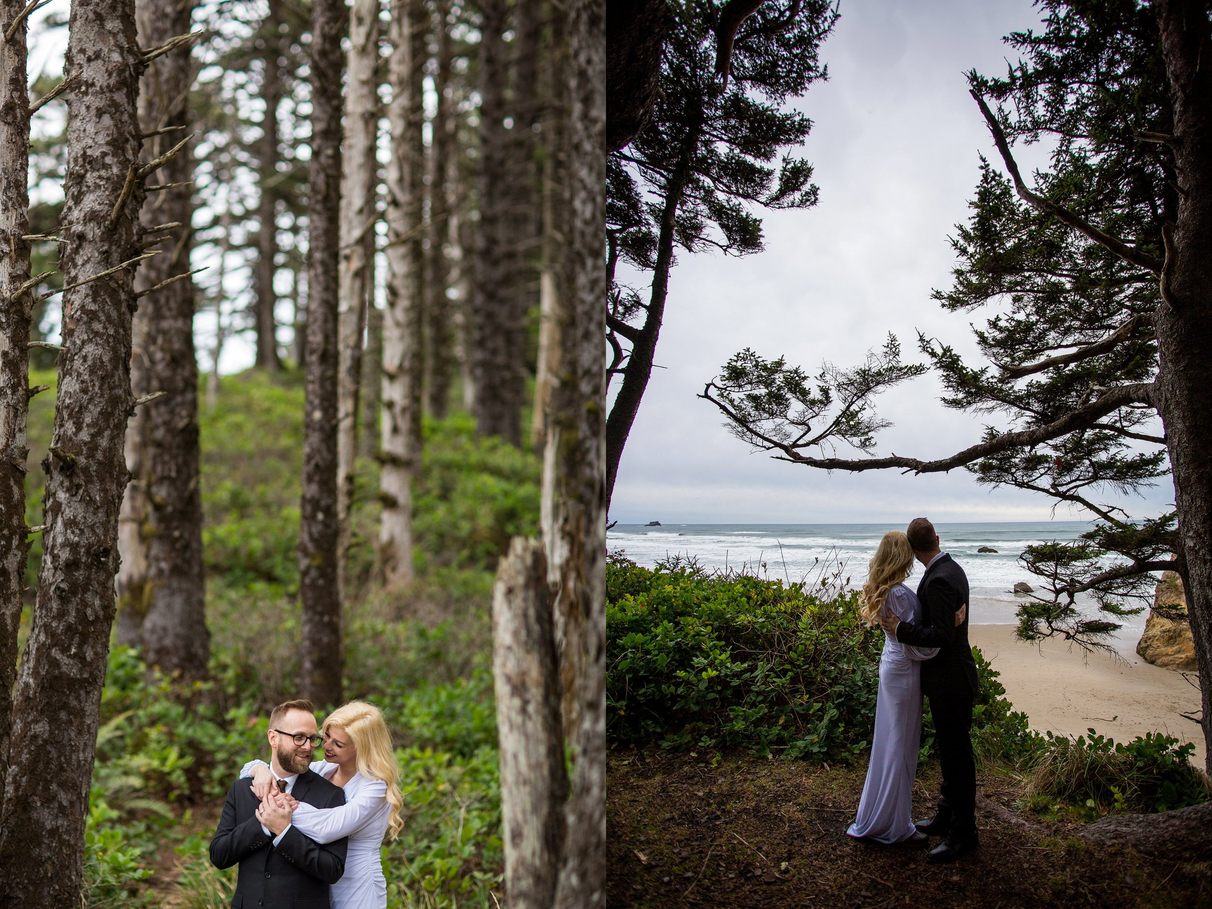 Oregon Coast Wedding Photos