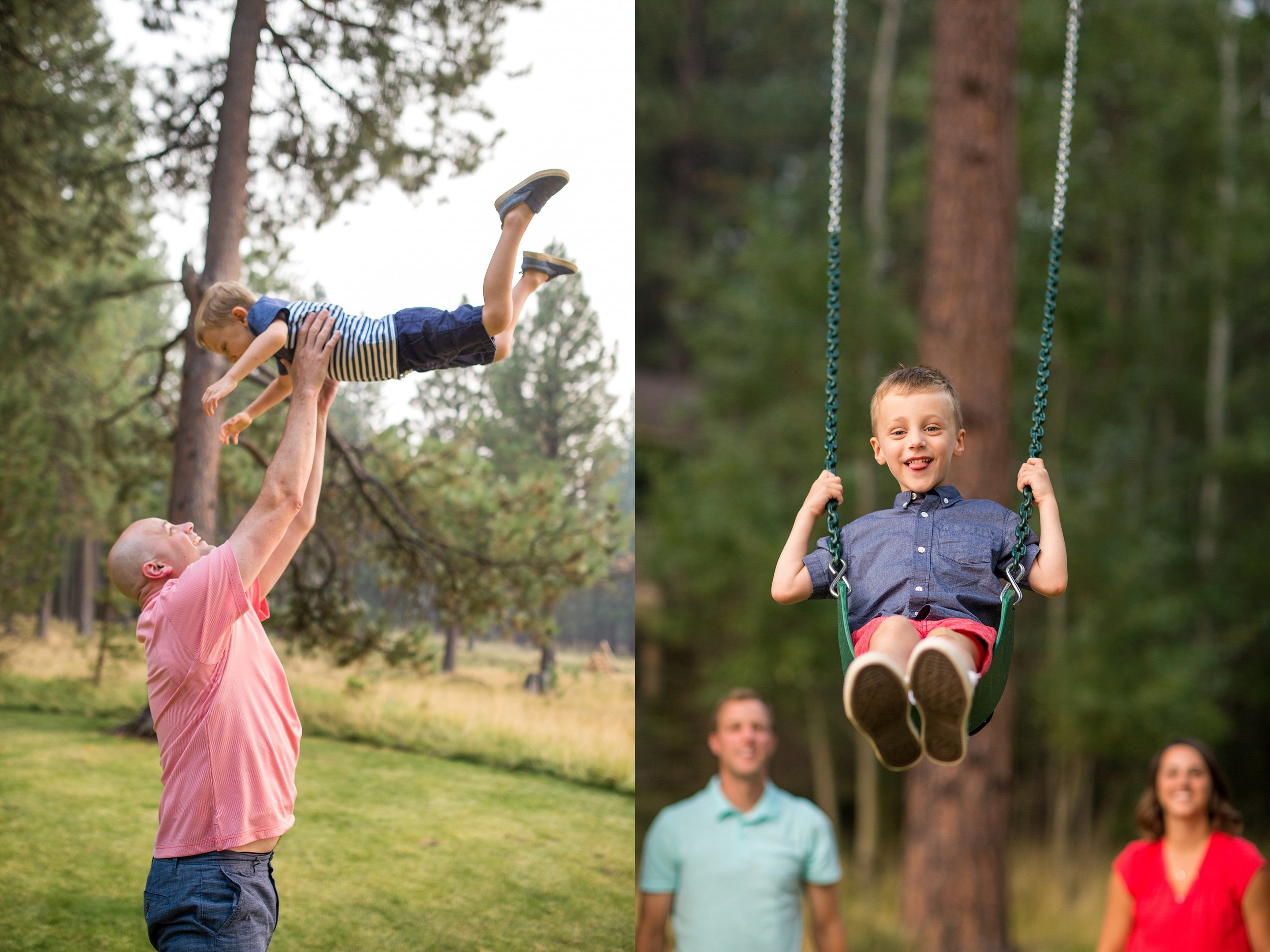 Playful Family Photographer Salem Oregon