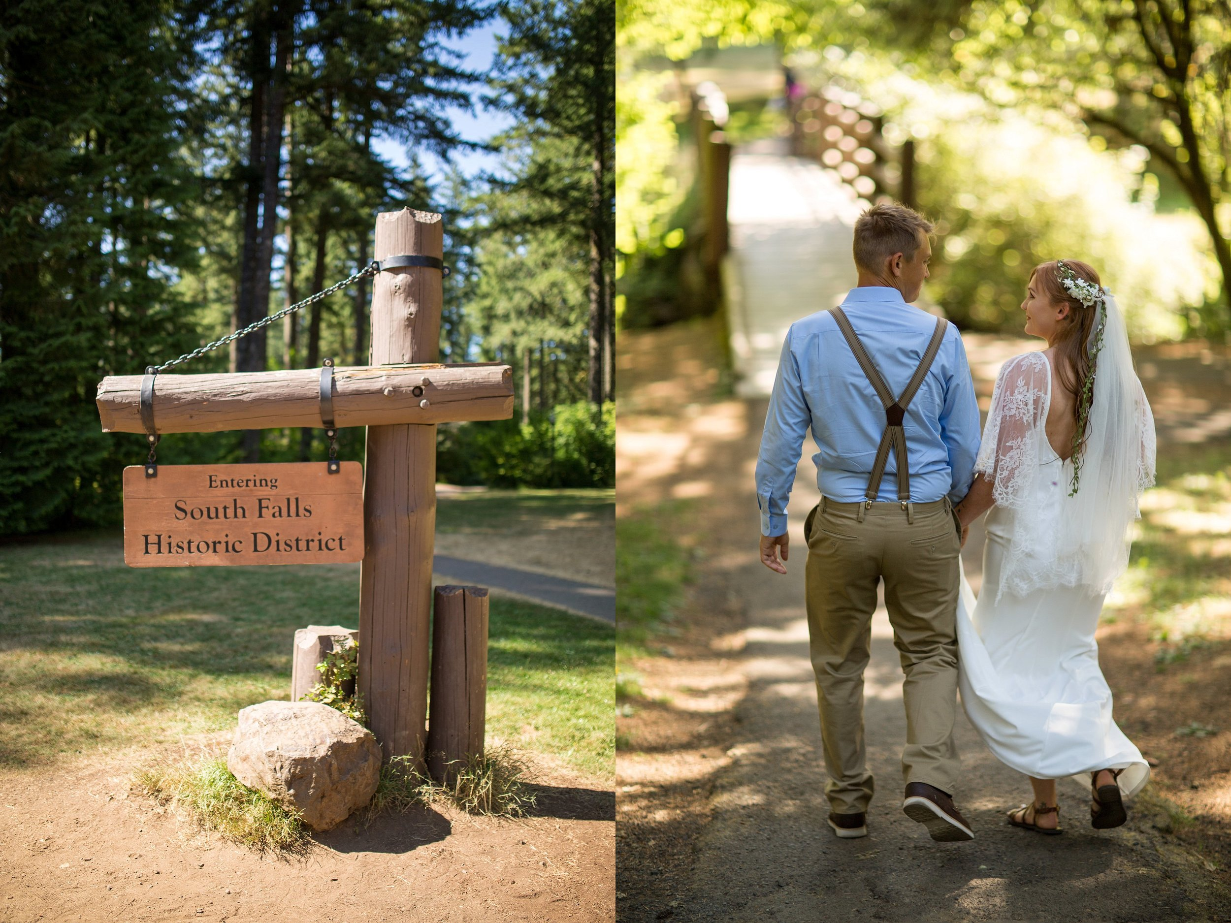 Silver Falls Wedding Photographer