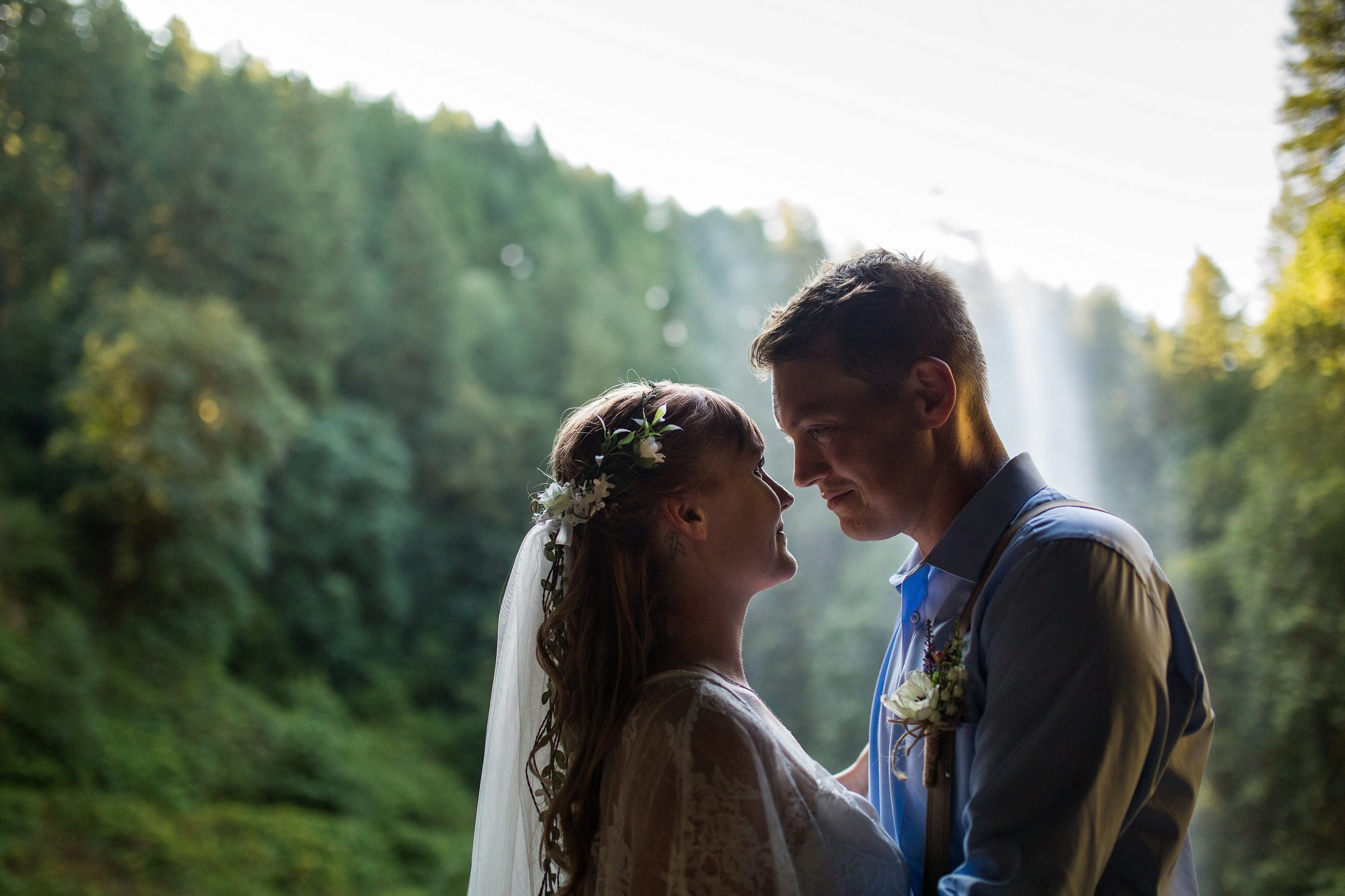 Silver Falls State Park Wedding Photos