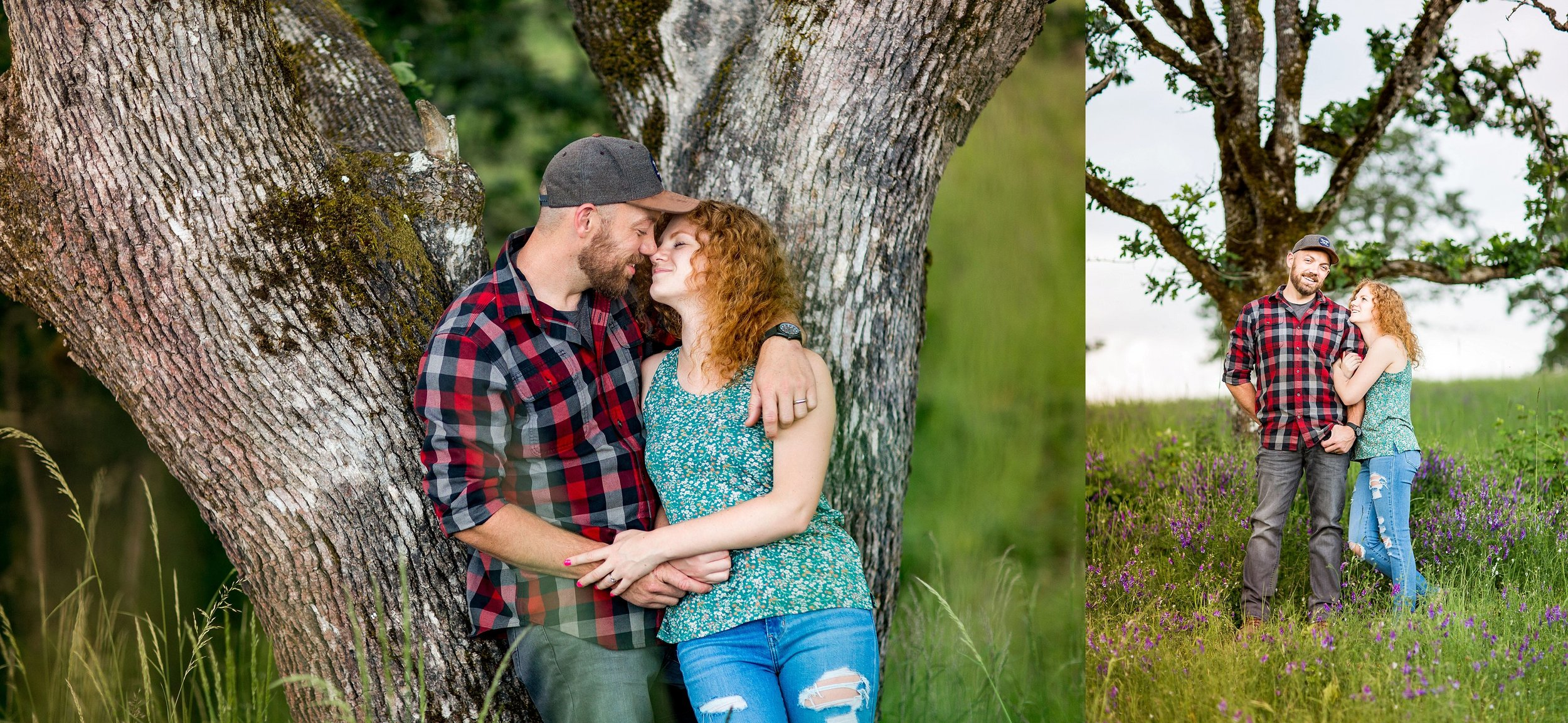 Baskett Slough Engagement Photography