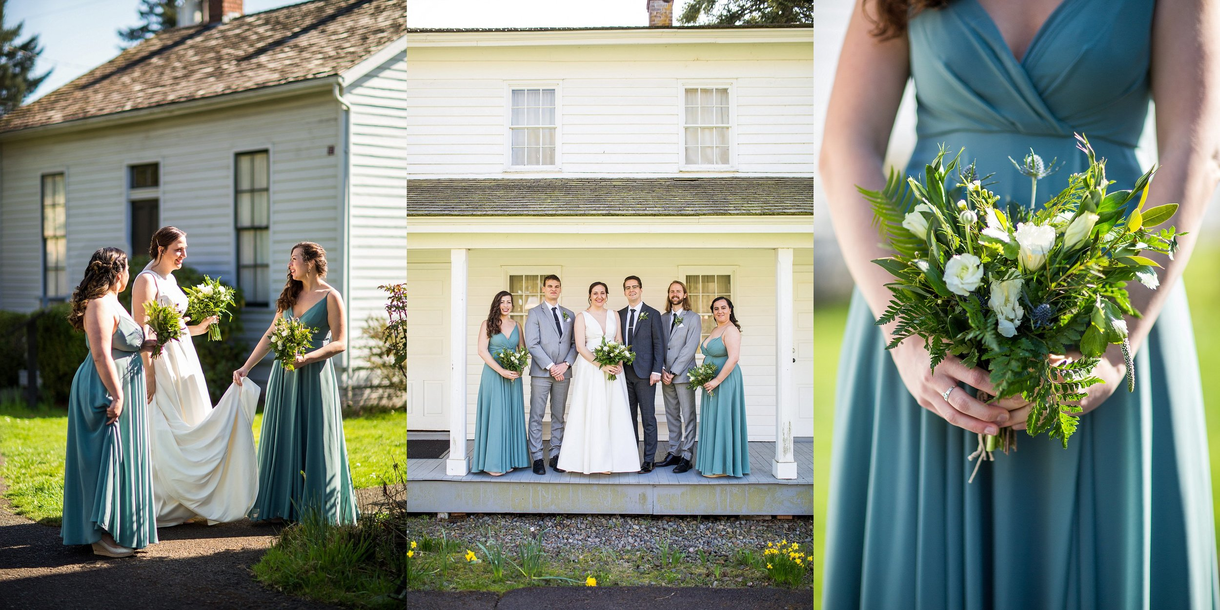Bridal Party Photos Salem Oregon