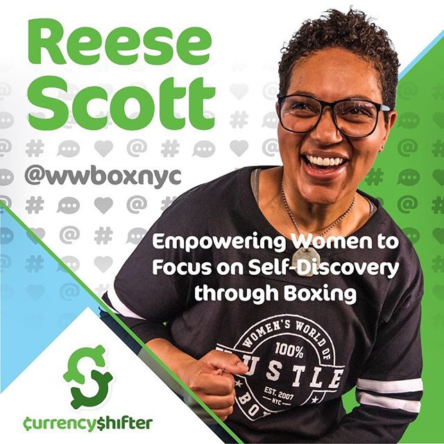 @reeselynnscott @wwboxnyc episode 2, season2 🤗learn the importance of discovering/creating who you are. Understand her journey to creating a boxing gym that helps women feel empowered. #socialcurrency link in bio 🙌🏾 #tbtuesday . . . 🍾Season 2 Sponsor @puntospace 🍾 🍾Theme Music by @terinthompsonofficial 🍾 🍾Host @corporate2casual
