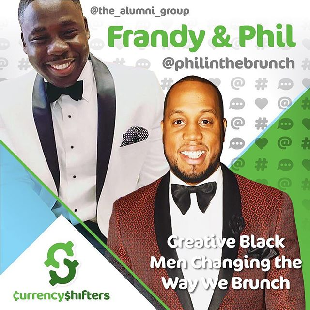 @philinthebrunch @qualityfilth @the_alumni_group episode 4 Season 2 🙌🏾 learn how two fraternity brothers are changing how we brunch🥳 #NJ #NYC #DC #tri-statearea and #LA #tbtuesday link in bio 🤗. . . 🍾Season 2 Sponsor @puntospace 🍾 🍾Theme Music by @terinthompsonofficial 🍾 🍾Host @corporate2casual