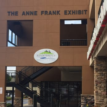 "Anne Frank in the World: 1922-1945   Anne Frank in the World: 1929-1945 Parkside Shopping Center 5920 Roswell Rd., Suite A209, Sandy Springs, 30328 770-206-1558  The exhibition tells the story of Anne Frank and her family, following them from freedom in 1920's Germany, to exile in the Netherlands, to hiding in a secret annex above her father's business in Amsterdam, and finally, to death in the Bergen-Belsen concentration camp. The Exhibit includes a 28-minute film on ""The Short Life of Anne Frank"", a virtual tour of the Anne Frank House in Amsterdam, a student artwork exhibit and an exhibit on the life of a soldier from an all black unit who witnessed the liberation of a concentration camp.  ADVISORY: This is emotionally challenging material and best experienced by patrons able to comprehend difficult subject matter.  **Minimum age: 12 yrs.**   Hours: Allow 2 hours for visit For self-guided tours: Tuesday - Thursday 10:00 am - 4:00 pm Friday 10:00 am - 2:00 pm Saturday 12:00 pm - 4:00 pm Sunday 12:00 pm - 4:00 pm Closed Mondays  LIMIT 15 One chaperone is required for every 10 students. This venue requires at LEAST a TWO (2) WEEK NOTICE to schedule your groups."