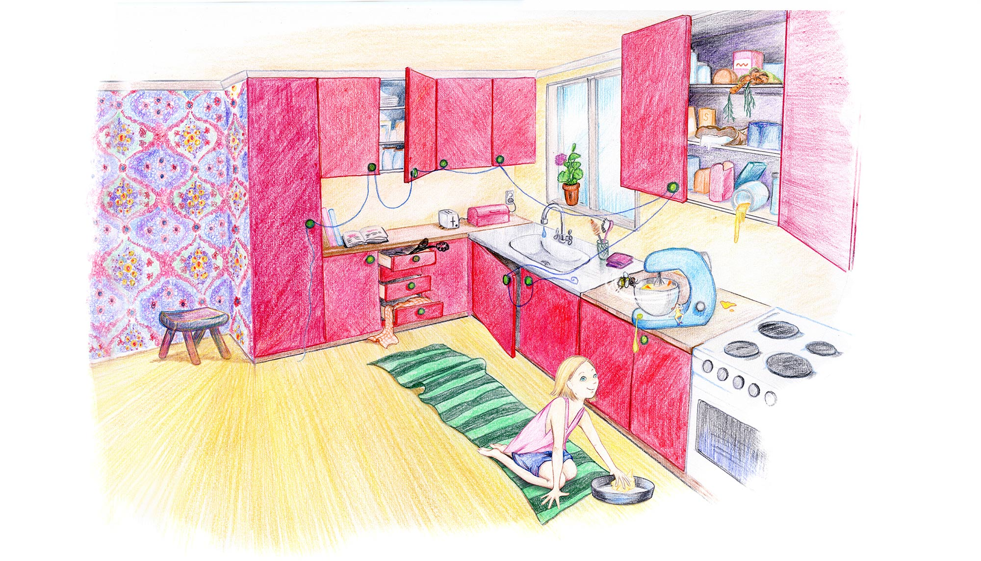 Samtliga illustrationer av  Jeanette Friman
