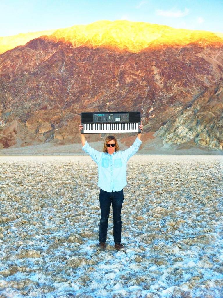 Synth excursions in Death Valley with Bill Baird; photographed by Laura Baird.