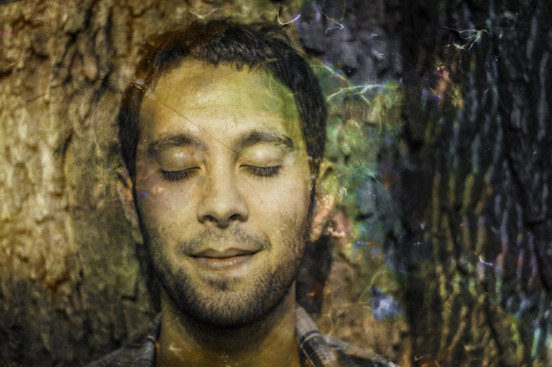 A portrait of Macajey's Jeremy Macachor; photographed by Ruudu Rahumaru