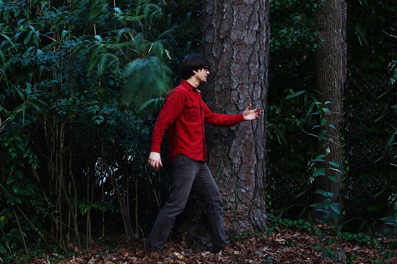 Rural walks with Elephant Micah's Joseph O'Connell; press photo courtesy of the artist.