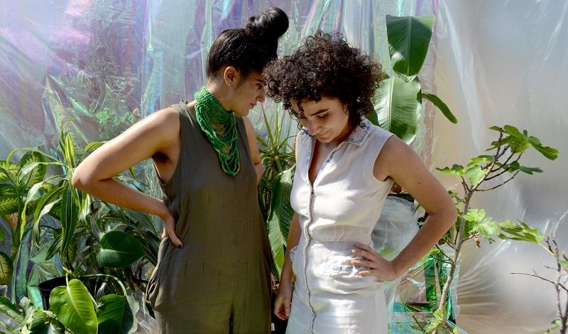The meditations of Raw Silk's Ami Dang and Alexa Richardson; press photo courtesy of Liz Flyntz.