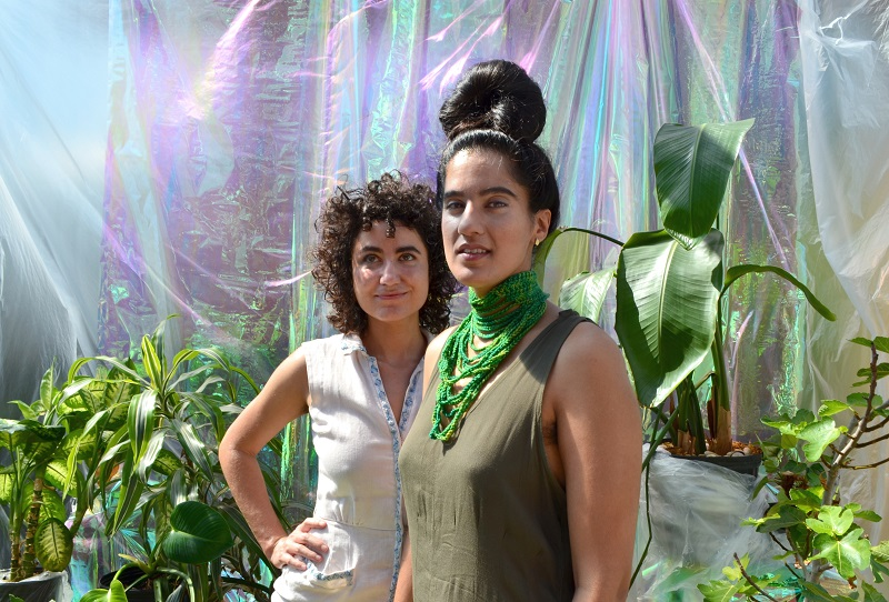 Alexa and Ami invite you to their world of enchantment; photographed by Liz Flyntz.