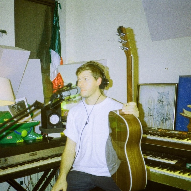Catching up in the studio with Matthew Flory Meade; press photo courtesy of the artist.