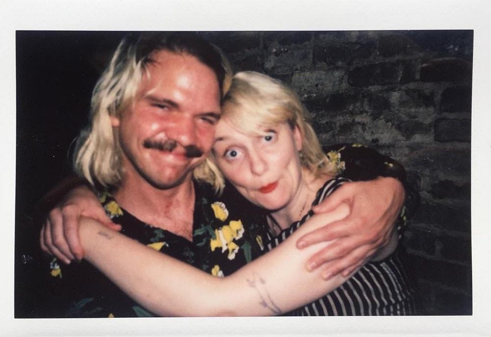 Best of friends-Matt Bachmann and Erin Birgy of Mega Bog; Polaroid courtesy of the artists/icons.