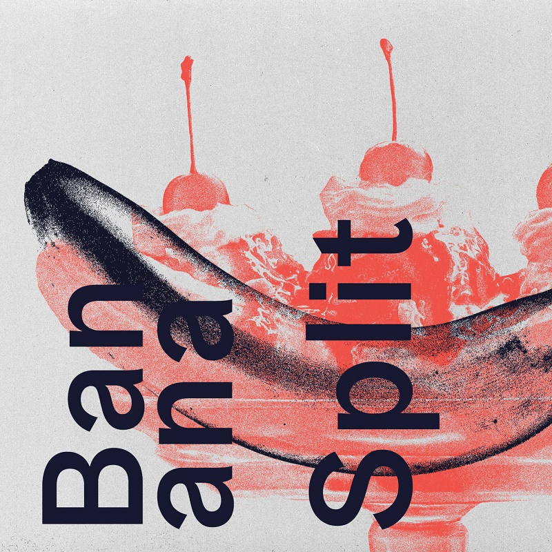 """Cover art for Everyone is Dirty's single """"Banana Split""""; courtesy of Jerome Bizien."""