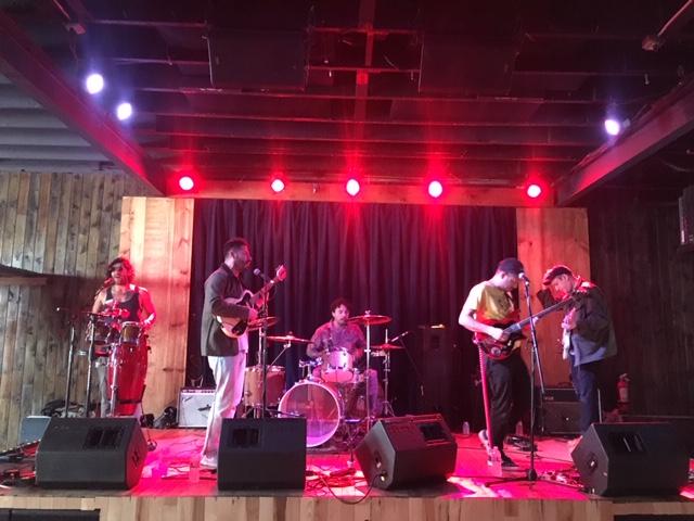 Sudakistan rocking Barracuda at the Austin Town Hall showcase.