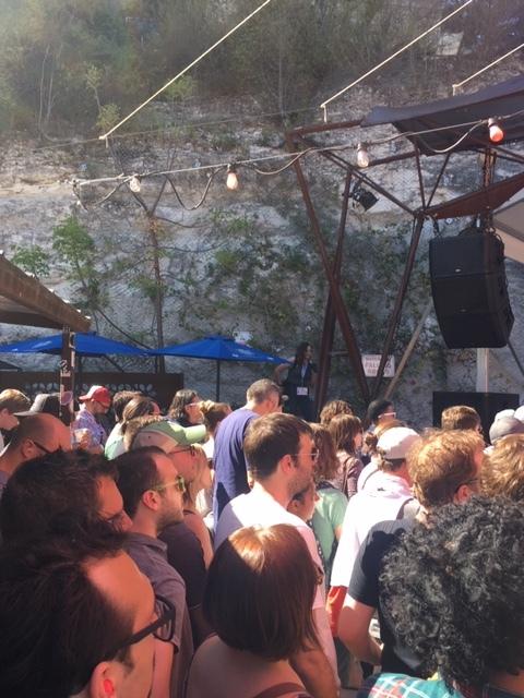 Crowd for Sasami at Cheer Up Charlies.