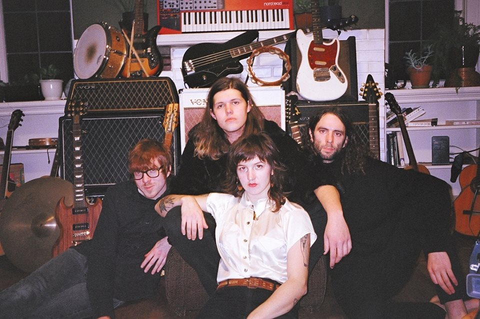The PNW's own Adria, Daniel, Danny & Jeff of MELT; press photo courtesy of the band/Halfshell Records.