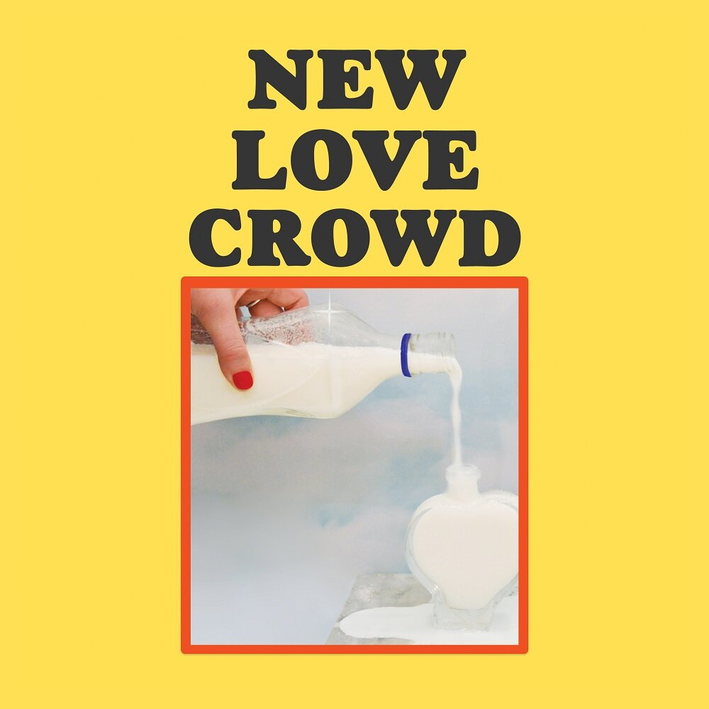 Cover art for the New Love Crowd's self-titled.