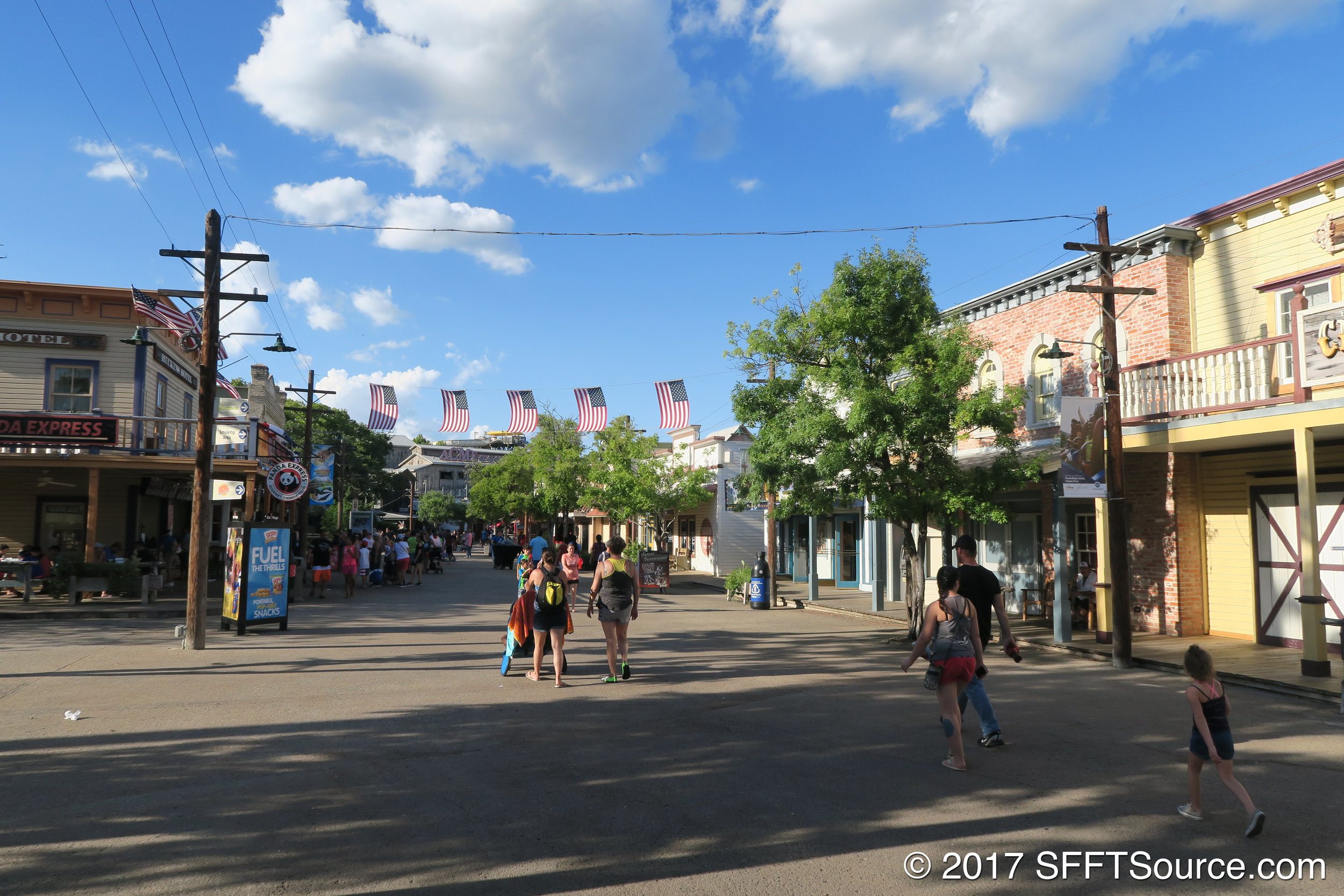 A look at the streets of Crackaxle Canyon.
