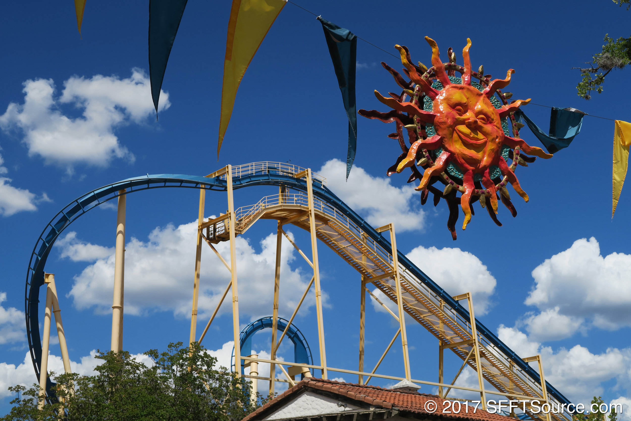Goliath is one of the area's main attractions.