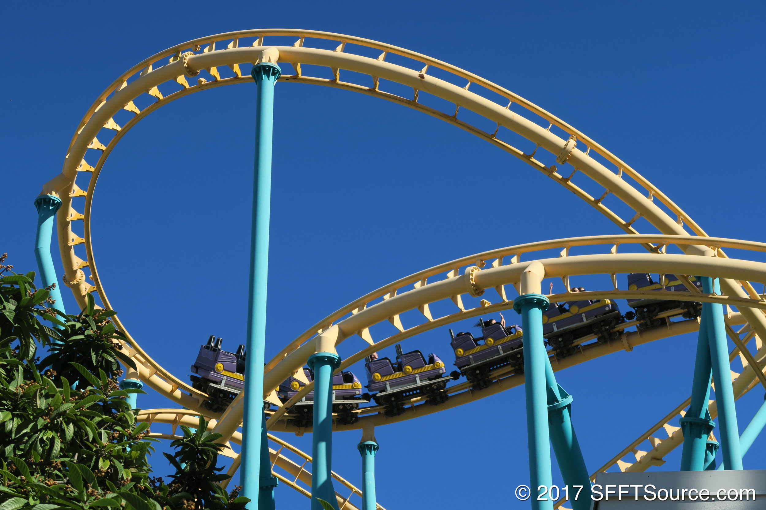 Guests are launched from 0-60 MPH to start the ride.