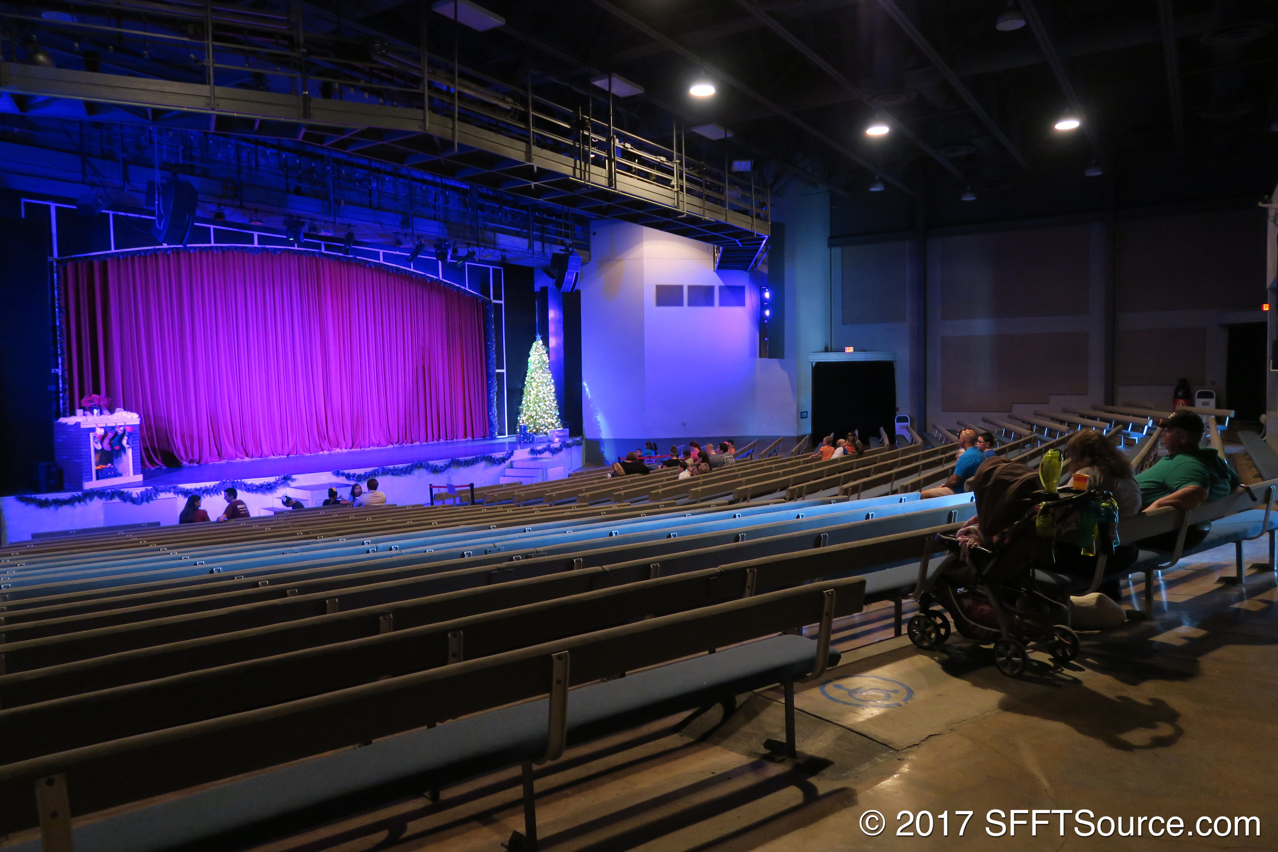 A look at the interior of Rockville High.