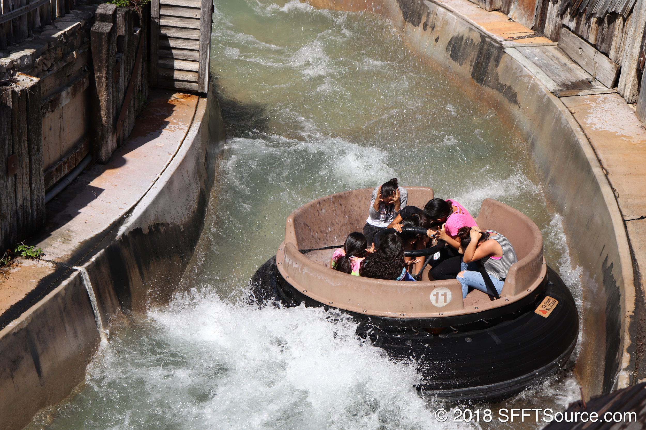 This ride is guaranteed to soak you.
