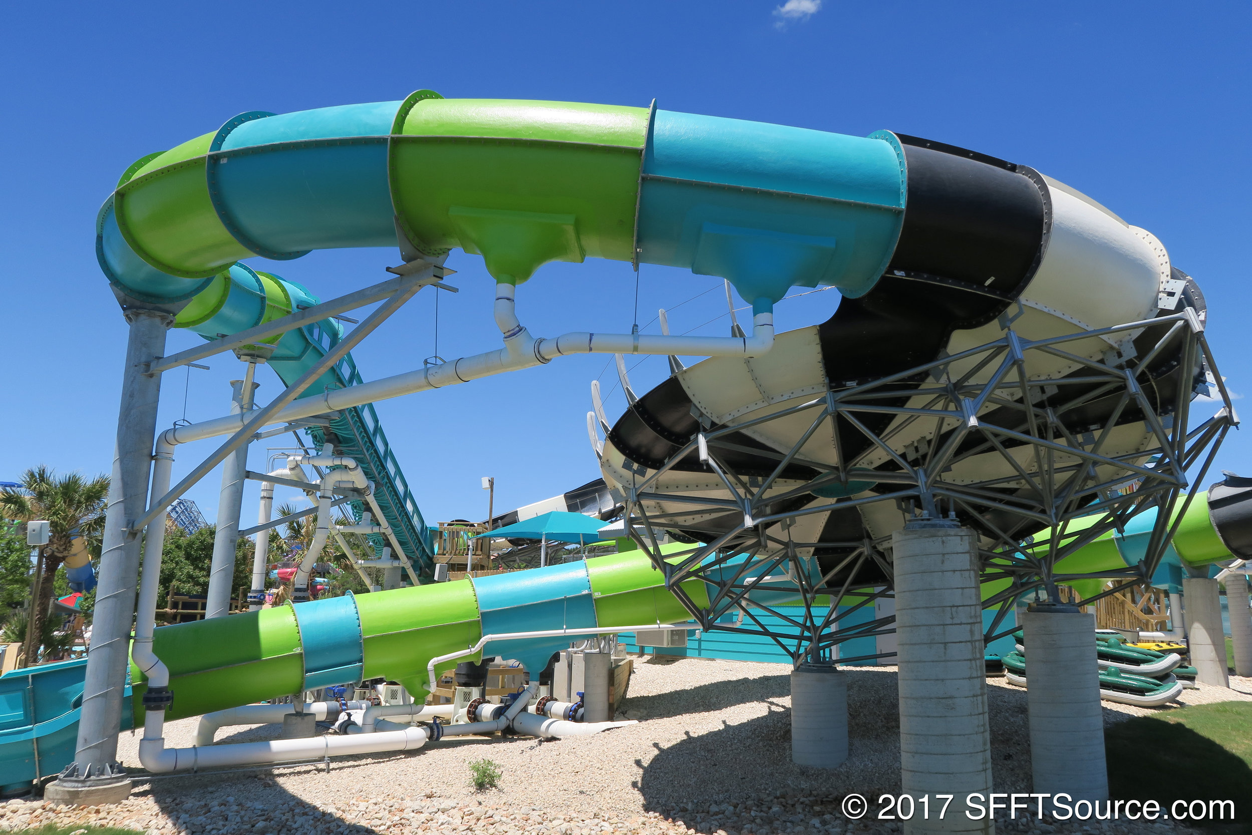 Thunder Rapids supports a continuously-moving loading dock.