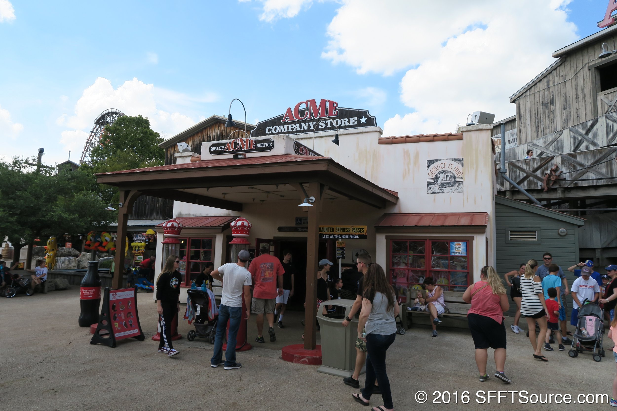 ACME Company Store is located in Crackaxle Canyon.